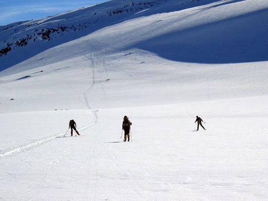 Runden rundt Lorthø kan være en fin tur både vinter og sommer.