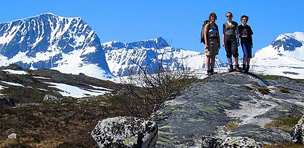 Turtips: TT-stien til Tovatna