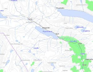 Slik er NetComs 3G-dekning i Storlidalen i dag. (Ill.: NetCom) (Klikk for større bilde.)