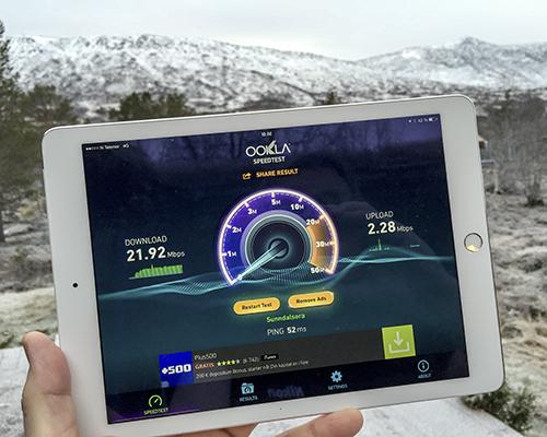 Nå er Telenor klar med 4G innerst i Storlidalen