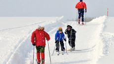 Hilser du på alle du møter i skisporet? Bli med på vår avstemning. (Foto: Toralv Østvang)
